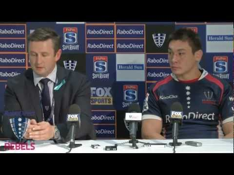 Rebels post Crusaders match press conference