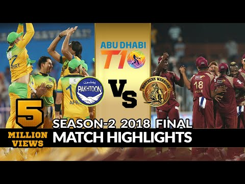 Final Match, Northern Warriors Vs Pakhtoon, T10 League Season 2
