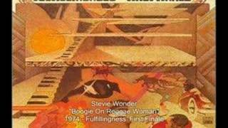 Video Boogie on reggae woman Stevie Wonder