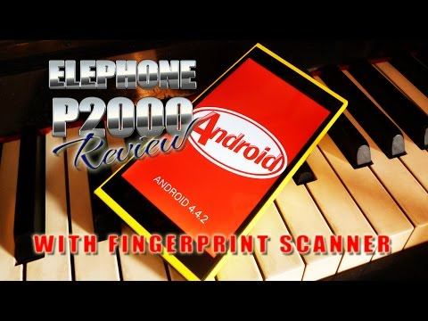 Elephone P2000 Review Test - Fingerprint Scanner - MT6592 octa-core ...
