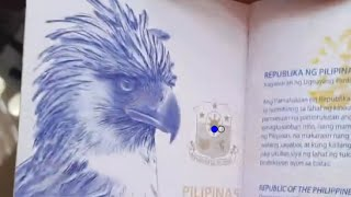 Philippine Monkey Eating Eagle Now In New And More Secure Philippine Passport