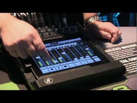 Mackie DL1608 iPad Interface Digital Mixer - Review