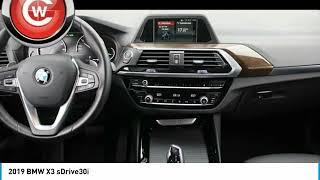 2019 BMW X3 2019 BMW X3 sDrive30i FOR SALE in San Luis Obispo, CA B18467A