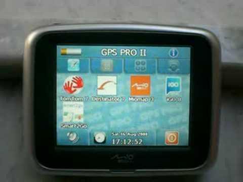 MIO C220 C230 C250 con GPSPRO II (www.mygpsnavi.com). l'aggiornamento software che abilita mappe tomtom. igo. miomap. destinator. smart2go. Aggiunge anche il player multimediale per video audio e foto di qualunque formato. la calcolatrice. il blocco note.