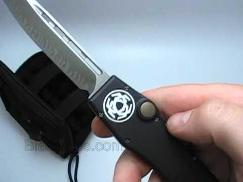 Microtech Katana Halo II OTF Automatic Knife