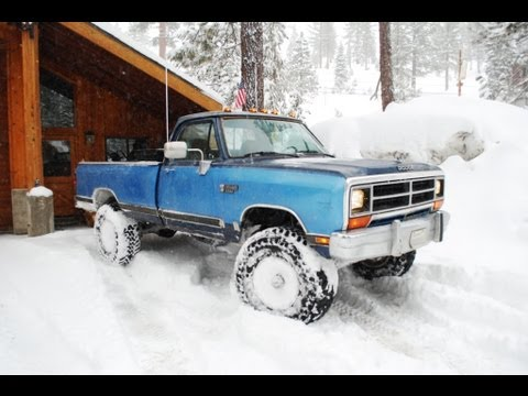 Old Dodge Ram >> 1990 Dodge Cummins cold start - YouTube
