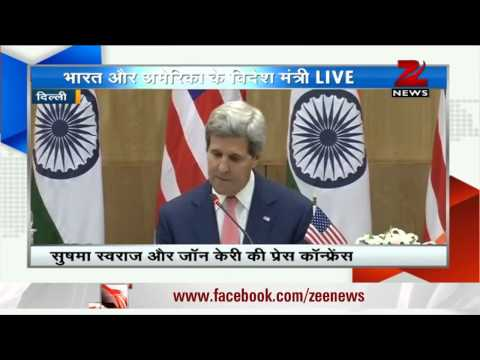 India, America 'indispensable partners' : John Kerry