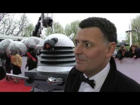 Steven Moffat Interview - TV BAFTAs 2013
