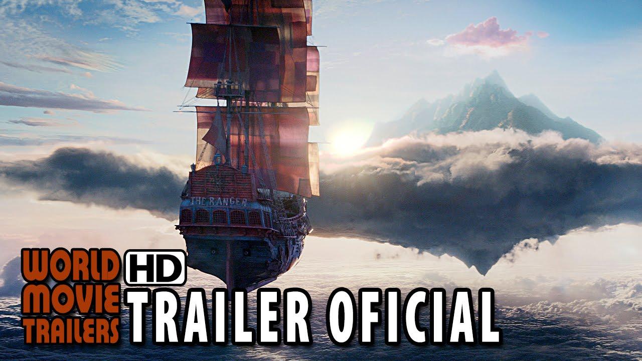 Peter Pan Trailer Oficial #2 Dublado 2015   Hugh Jackman, Levi Miller HD