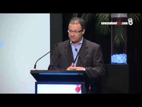 Kevin Bowler addresses the China Business Summit 2012