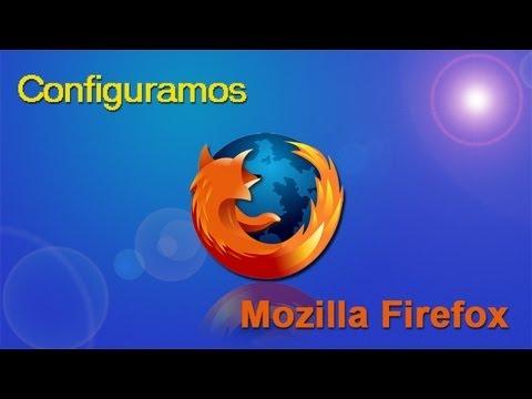 Configurar Mozilla Firefox