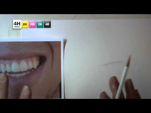 Tips for Drawing Mouths No. 4: Separating lips and gums