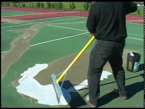 SportMaster: Tennis Court Patching & Repair