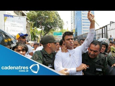 Quién es Leopoldo López, el líder opositor venezolano que desafía a Nicolás Maduro