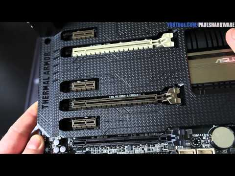 ASUS Sabertooth Z87 Intel Haswell 1150 Motherboard Unboxing & Overview