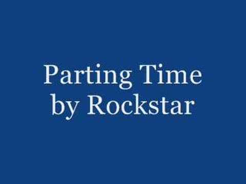 Parting Time - Rockstar video