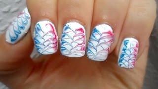 Lovelynailsxx viyoutube braided marble nail art prinsesfo Gallery