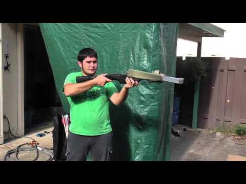 Introducing the 100 Pound PVC Crossbow