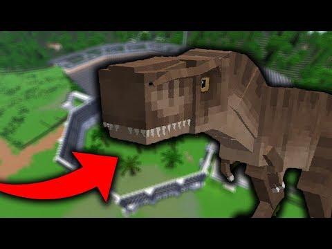😵 DIMENZIÓ. AMIT MÉG NEM LÁTTÁL! 😵   👉 JURASSIC WORLD 👈   Minecraft