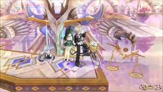 Elsword Mount: Nell's Bicycle Test. Large AOE Hits Entire Screen!