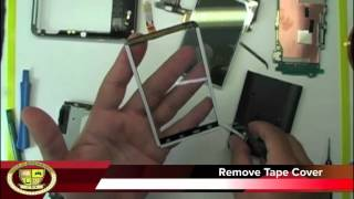 HTC THUNDERBOLT GLASS DIGITIZER REPLACEMENT TAKE APART HTC THUNDERBOLT