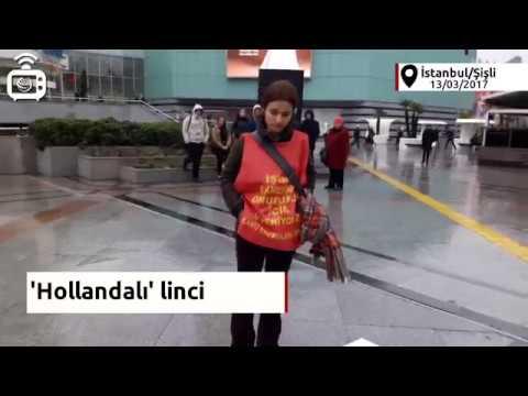 AKP'liler 'Hollandalı' diye Norveçli gazeteciye saldırdı