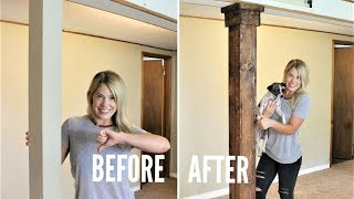 HOW-TO: Wrap a Support Post - Easy DIY Project