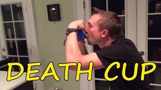 DEATH CUP CHALLENGE w/ SURPRISE EGG OPENING (Warning: Not For People with Weak Stomachs)