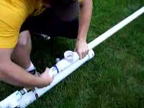 Simple Easy to Build Golfball Cannon