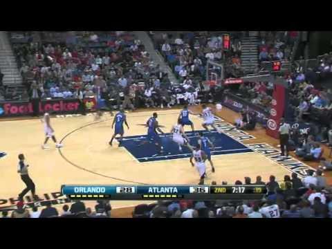 NBA Orlando Magic Vs Atlanta Hawks  Highlights Feb 23, 2012 Game Recap