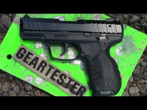 Ruger SR 22 Rimfire Pistol (Range Report 1) by TheGearTester