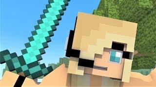 Psycho Girl 1-11 Minecraft Musical Series!  Minecraft Songs and Minecraft Animation Movie 2017