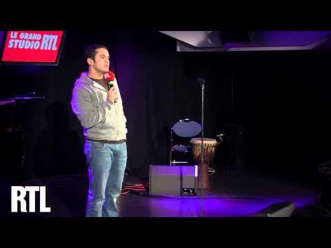 Malik Benthala en live dans le Grand Studio RTL présenté par Laurent Boyer - RTL - RTL