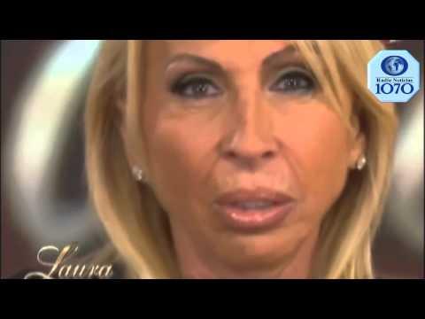 Laura Bozzo llora en pleno programa