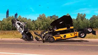 Adjust Crash Options of your Truck - Collision Mode in ATS: American Truck Simulator