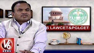 Career Guidance For TS LAWCET andamp; PGLCET | LAWCET Convenor G B Reddy | Career Point
