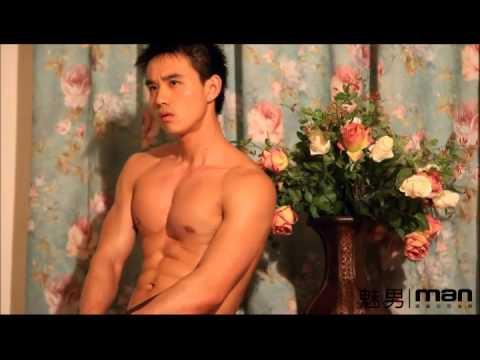 【魅男】hot male model  秦龙
