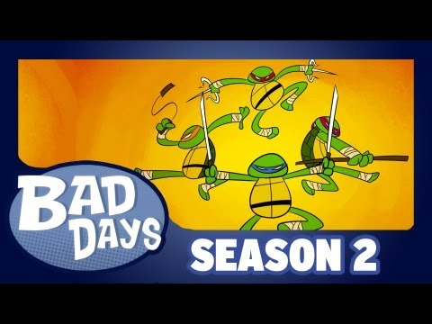 Teenage Mutant Ninja Turtles - Bad Days - Season 2 - Ep2