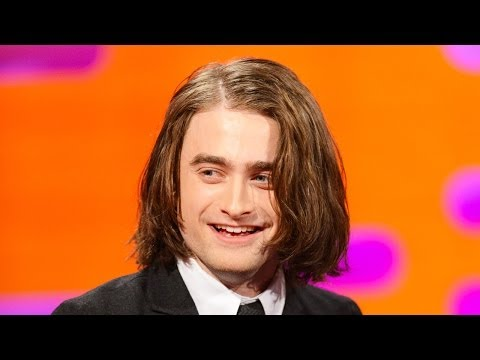 DANIEL RADCLIFFE's New Long Hair - The Graham Norton Show on BBC AMERICA