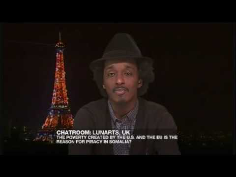 Riz Khan - Rapper K'naan on Somalia's descent - 13 Apr - Part 2