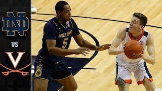 Notre Dame vs. Virginia Basketball Highlights (2018-19)