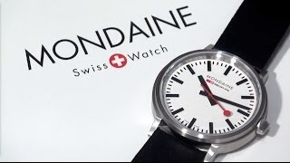 Mondaine Stop2Go Swiss Railway 2 Second Pause Watch: Hands On Video And Review For A512.30358.16SBB