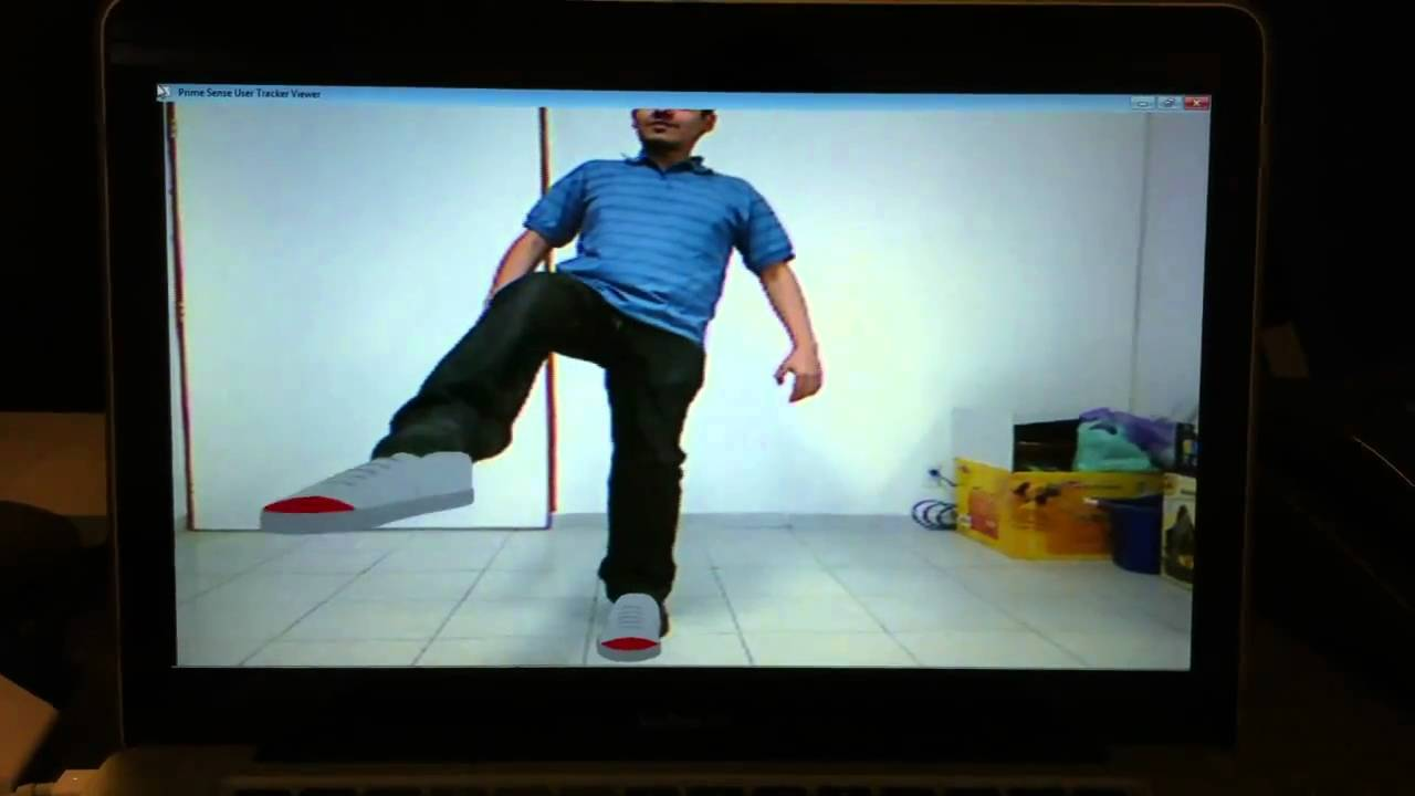 Foot Track Foot Tracking Test With Kinect