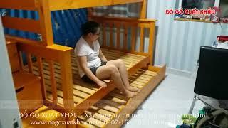 Giường tầng cho nội thất căn hộ đẹp - video clip thực tế