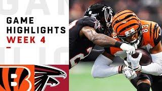 Bengals vs. Falcons Week 4 Highlights   NFL 2018