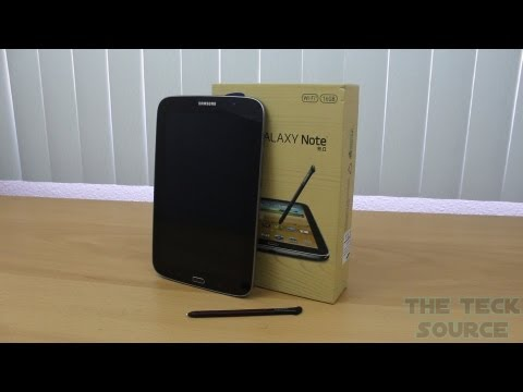 Samsung Galaxy Note 8.0 Tablet [2013] Unboxing/Overview