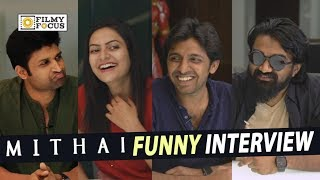 Mithai Movie Team Funny Interview || Rahul Ramakrishna, Priyadarshi