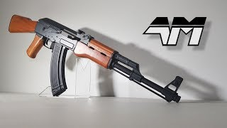 CYMA CM046 The Airsoft AK47 With Blowback Action / Unboxing Review