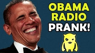 Barack Obama Radio Prank Call