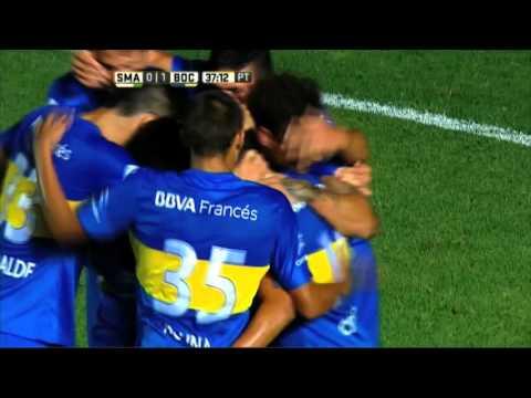 Boca le ganó a San Martín en San Juan y por ahora conserva a su técnico